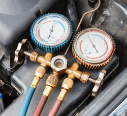 auto air conditioning regas