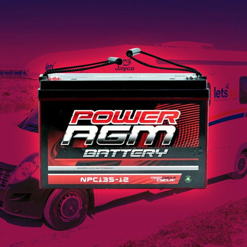 rv battery installation